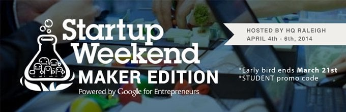 Triangle Startup Weekend, Maker Edition