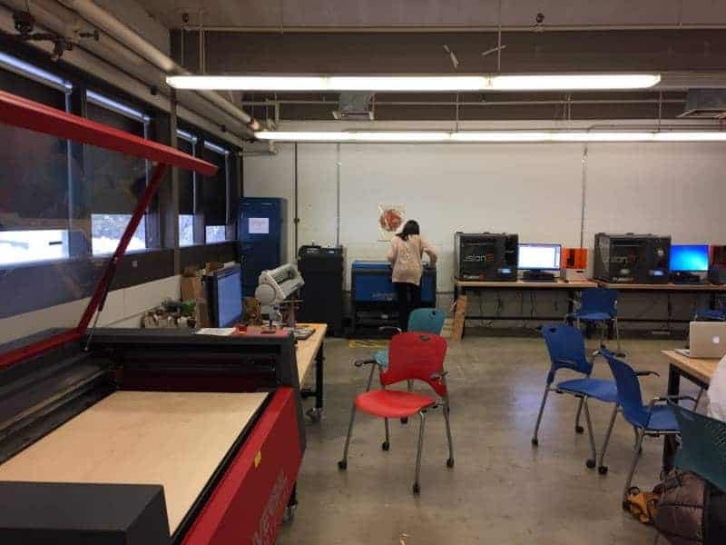 Stamps School of Art & Design Library 3D printers