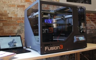 Alternative To Expensive Industrial 3D Printers: Fusion3 F400