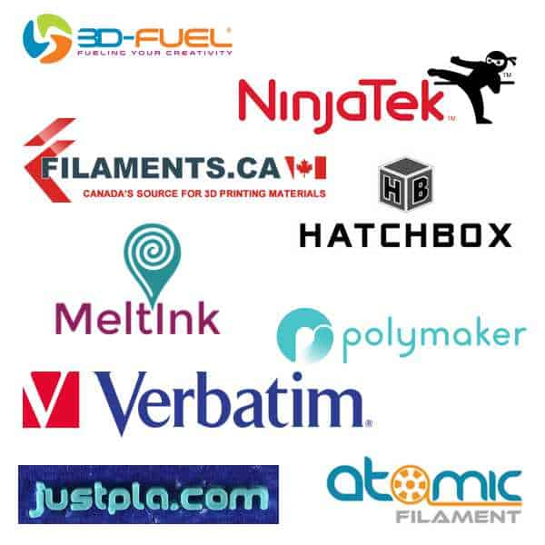 Eleven New 3D Printing Filaments Recently Certified For Fusion3 3D Printers