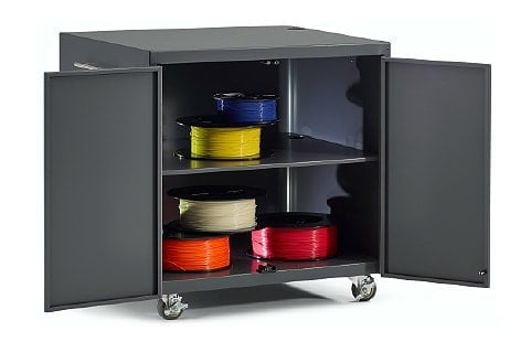 safe 3D printer rolling cart