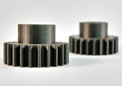 Set of Two Carbon Fiber Nylon Gears (video)
