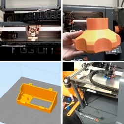 Fusion3 Industrial 3D Printer Demonstration