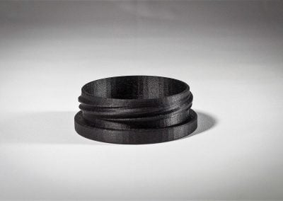 Threaded Cap (Carbon Fiber Nylon)
