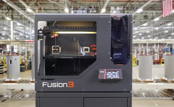Fusion3 F410 manufacturing 3D printer