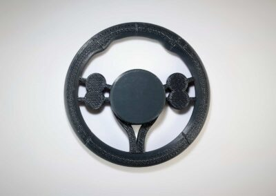 3D Printed Steering Wheel In ABS - Fusion3 F410 3D Printer - 2