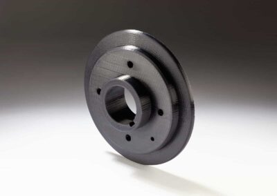 3D printed Front timing flange printed in Nylon 645 on Fusion3 F410 - 73D printed Front timing flange printed in Nylon 645 on Fusion3 F410 - 73D printed Front timing flange printed in Nylon 645 on Fusion3 F410 - 7