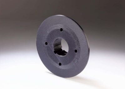 3D printed Front timing flange printed in Nylon 645 on Fusion3 F410 - 73D printed Front timing flange printed in Nylon 645 on Fusion3 F410 - 73D printed Front timing flange printed in Nylon 645 on Fusion3 F410 - 5