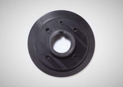 3D printed Front timing flange printed in Nylon 645 on Fusion3 F410 - 73D printed Front timing flange printed in Nylon 645 on Fusion3 F410 - 73D printed Front timing flange printed in Nylon 645 on Fusion3 F410 - 4
